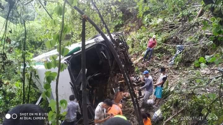 Identificados heridos del accidente en la vía a la Costa | EL FRENTE
