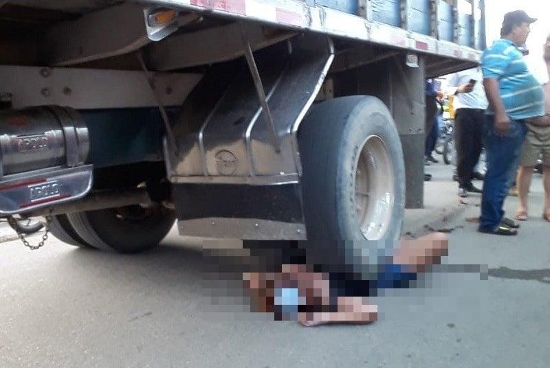 Menor fue arrollada por un camión de carga en Aguachica, Cesar | EL FRENTE