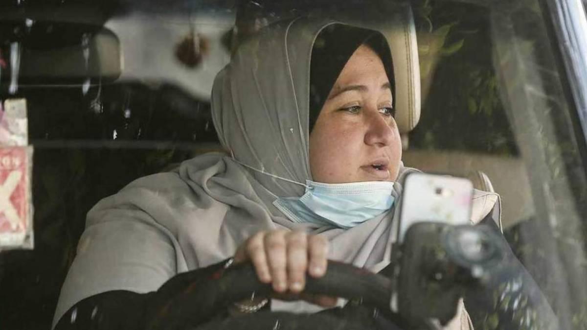 Abu Jubbah, primera mujer taxista de Gaza | EL FRENTE