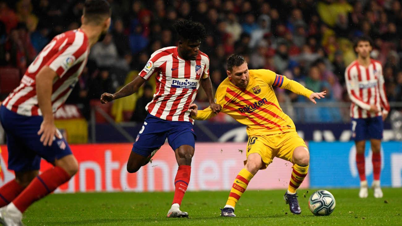 Atlético de Madrid venció 1-0 al Barcelona   EL FRENTE