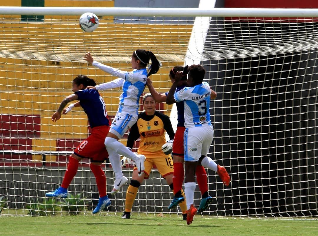 Real San Andrés y Medellín dividieron honores  | EL FRENTE
