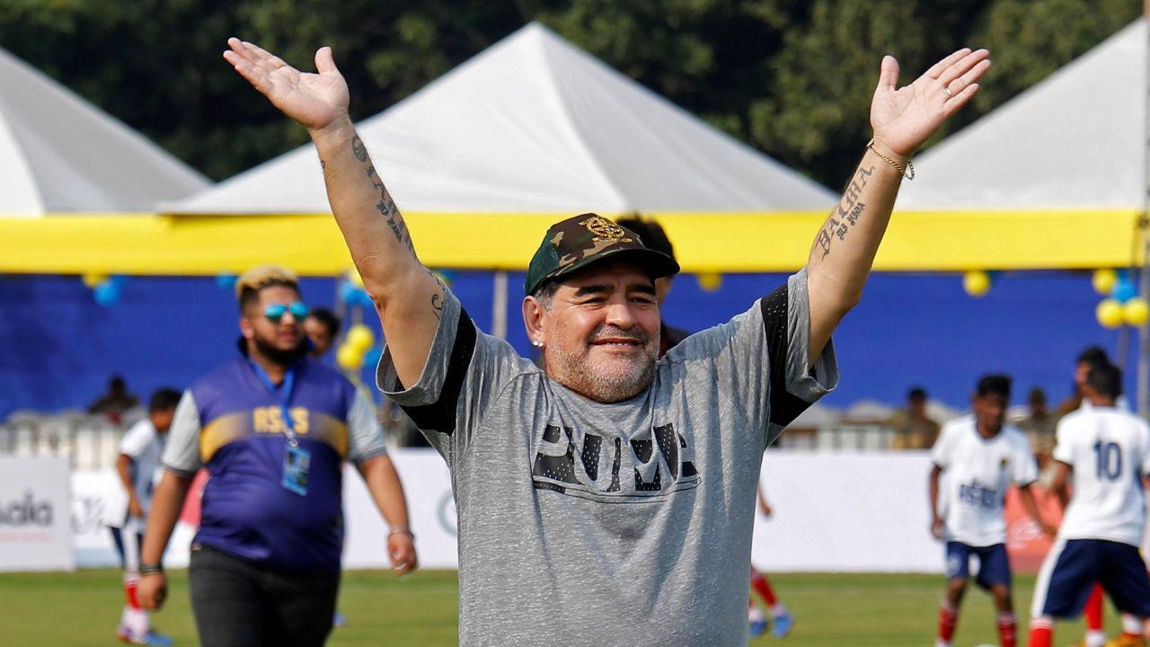 Adiós eterno a Diego Armando Maradona   EL FRENTE
