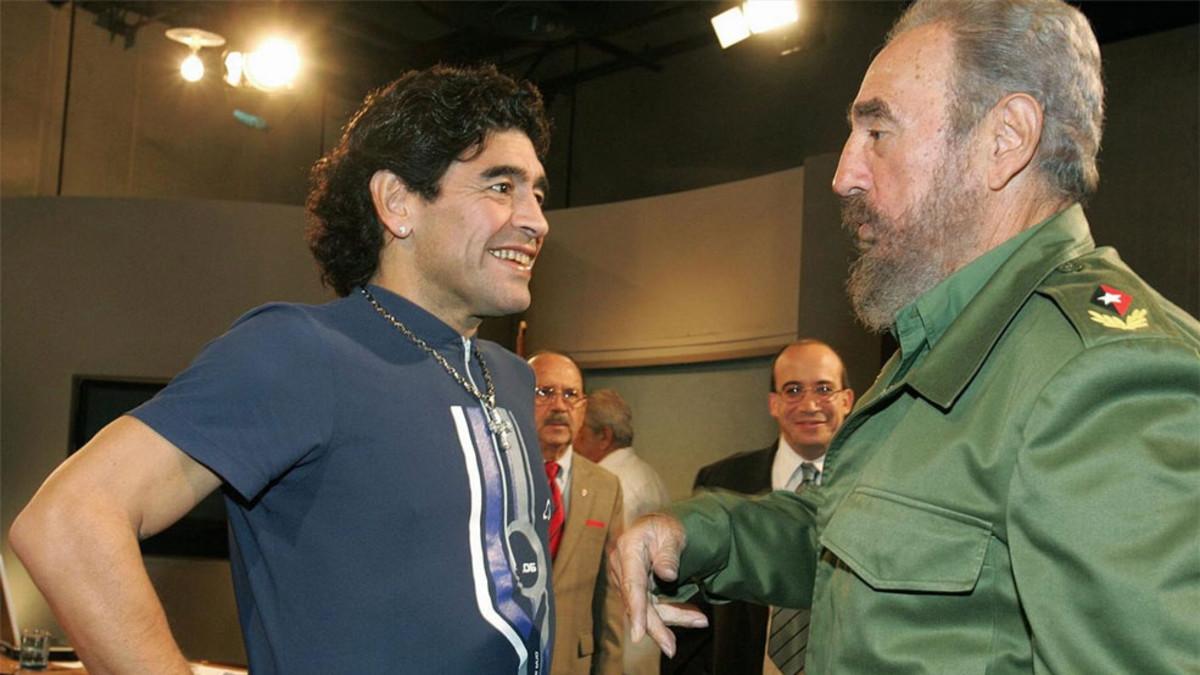 Maradona y Fidel Castro, dos amigos que han fallecido el mismo día: 25 de noviembre | EL FRENTE