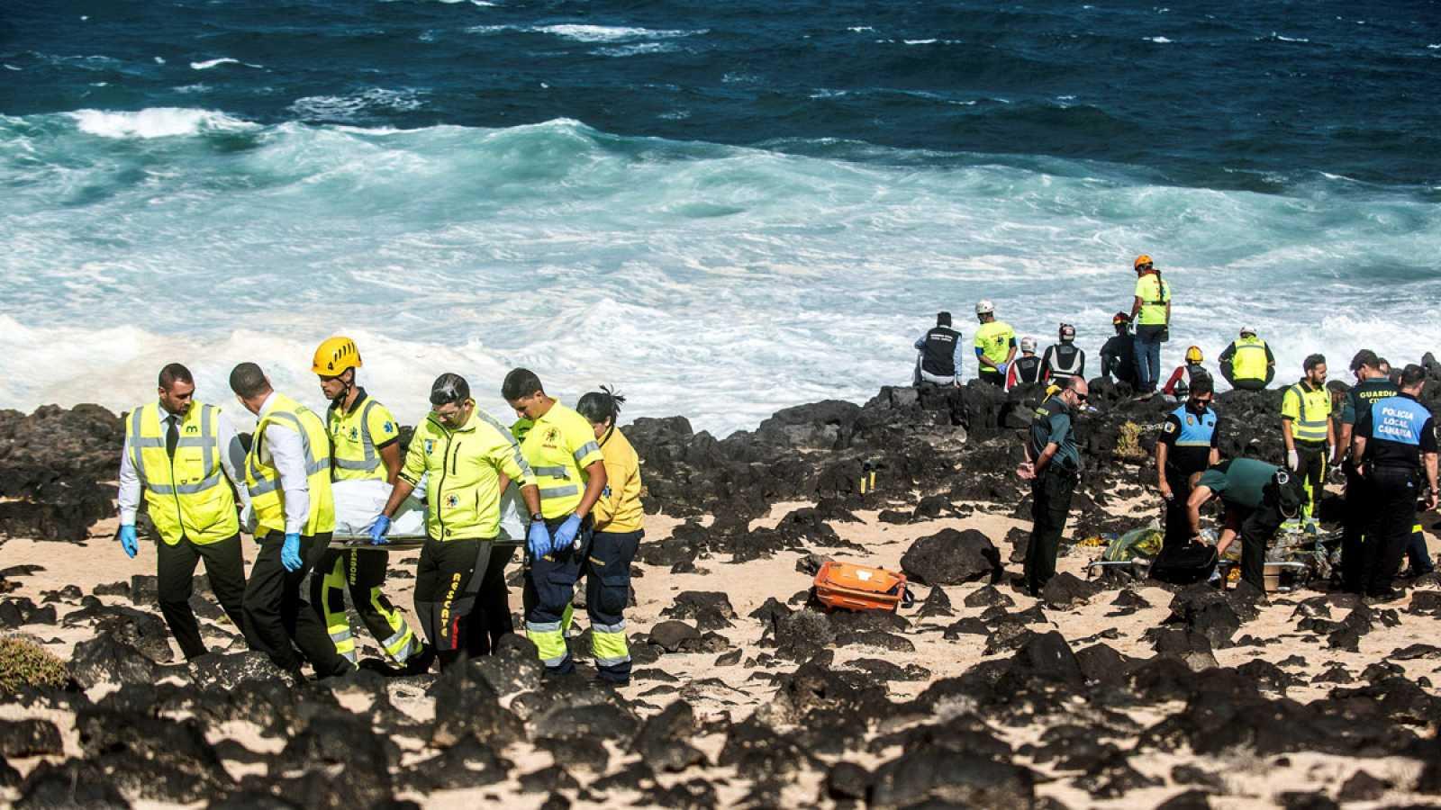 A ocho aumentó la cifra de migrantes fallecidos en naufragio    foto   EL FRENTE