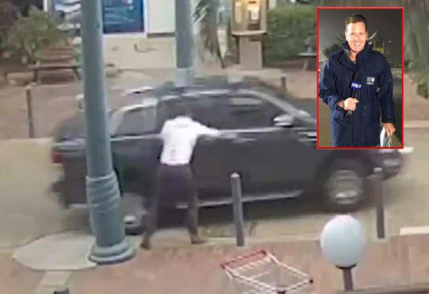 Periodista fue víctima de robo en directo  | EL FRENTE