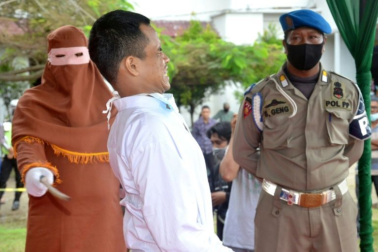 Violador se desmayó cuando recibía castigo    foto   EL FRENTE