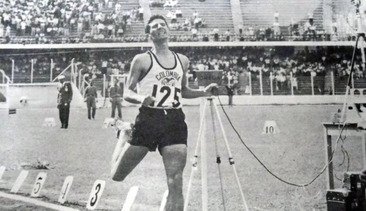 Murió el atleta Álvaro Mejía Flórez | EL FRENTE