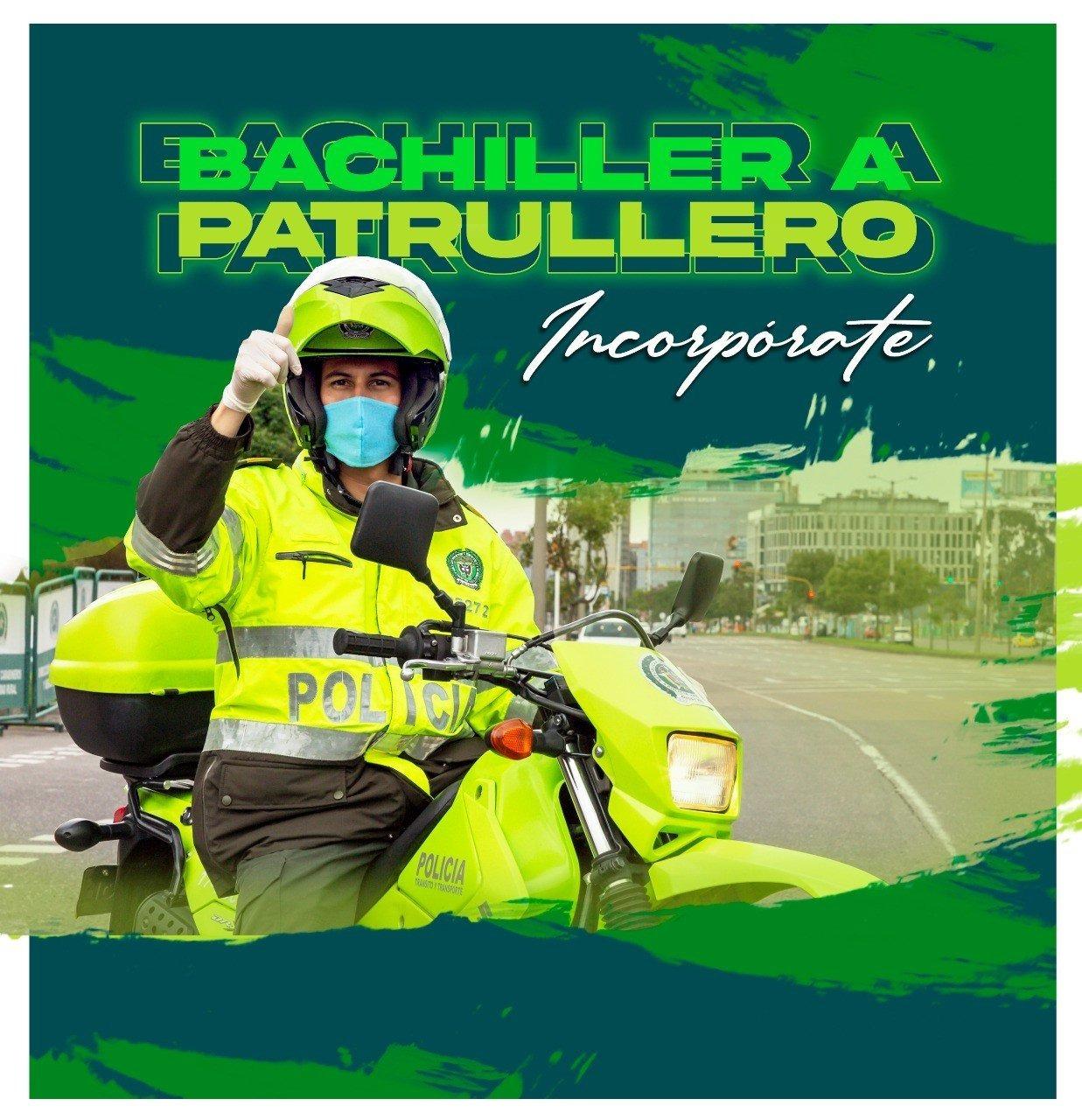 Abierta la convocatoria de bachiller a patrullero  | foto | EL FRENTE