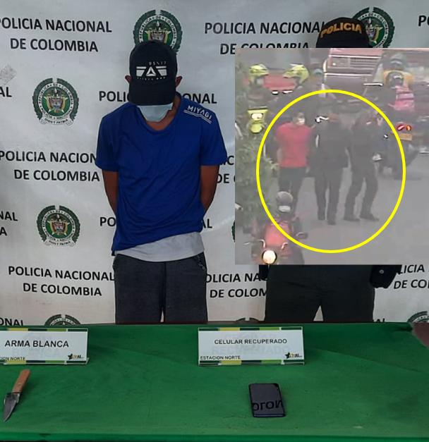 VIDEO. Ladrones de celulares no lograron 'salirse con la suya' | EL FRENTE