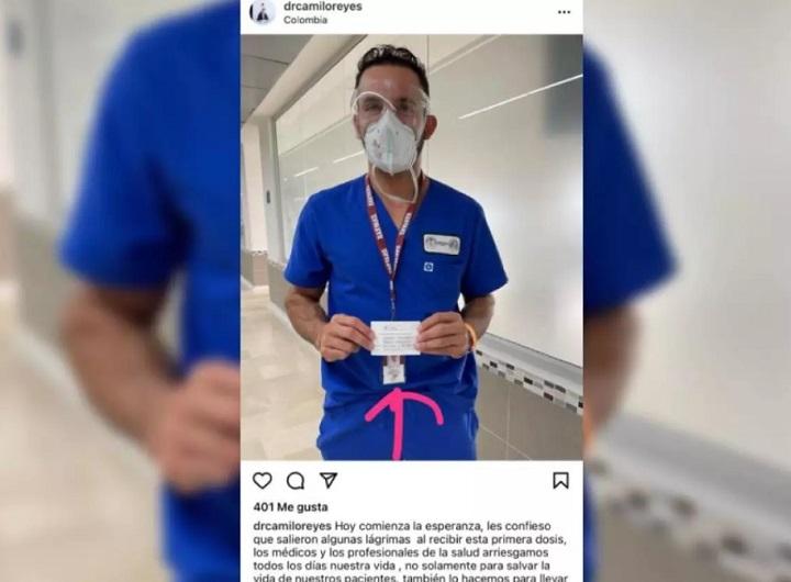 Con engaños un cirujano plástico se coló para recibir la vacuna contra la Covid-19 en Santander | EL FRENTE