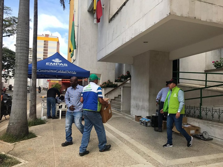 Para facilitar la atención a los ciudadanos en Santander EMPAS abrió canales para quejas y reclamos   EL FRENTE