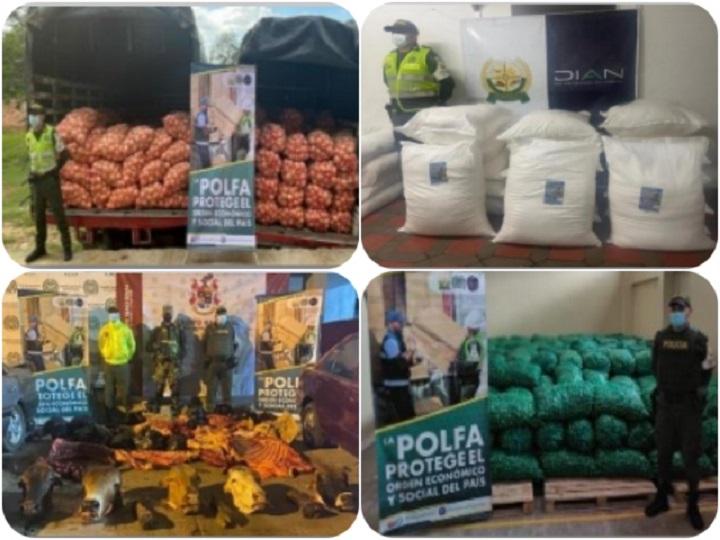 Incautados más de $890 millones en productos agropecuarios de contrabando en Colombia | Nacional | Economía | EL FRENTE