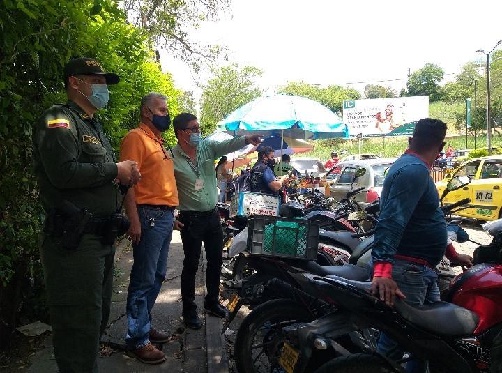 En operación acciones de las autoridades en Floridablanca para recuperar espacio público | Santander | EL FRENTE