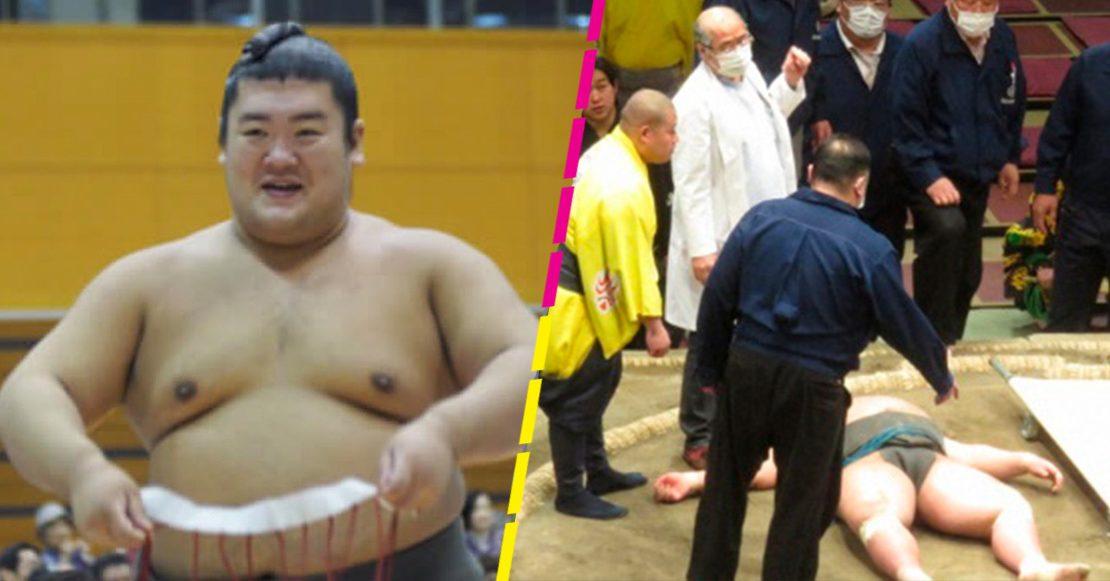 Violento golpe causa la muerte de luchador de Sumo | EL FRENTE