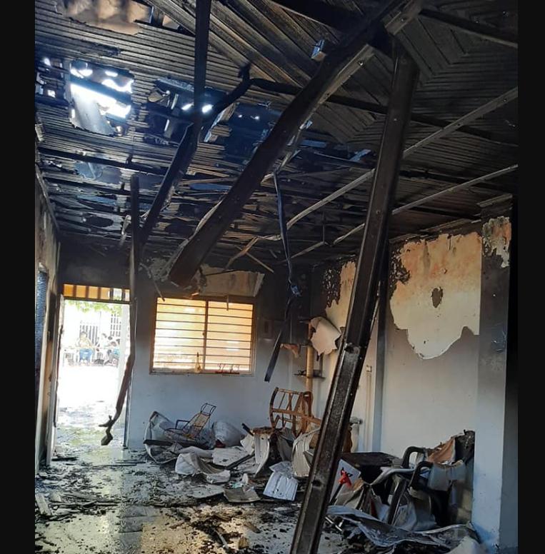 Incendio dejó a una familia en la calle en Barrancabermeja   EL FRENTE