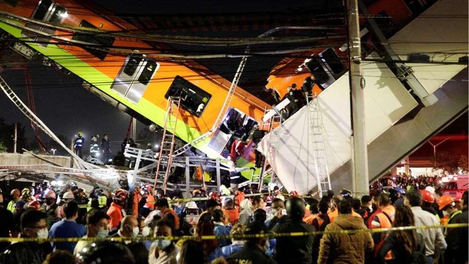 23 muertos por desplome de un viaducto del metro en Ciudad de México | EL FRENTE