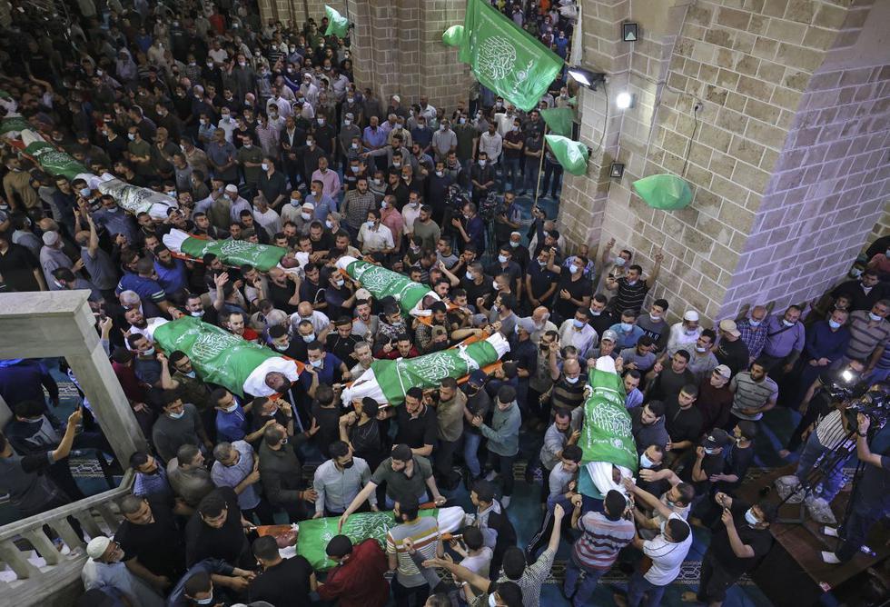 Más de 83 palestinos muertos por bombardeos en Gaza  | foto | EL FRENTE