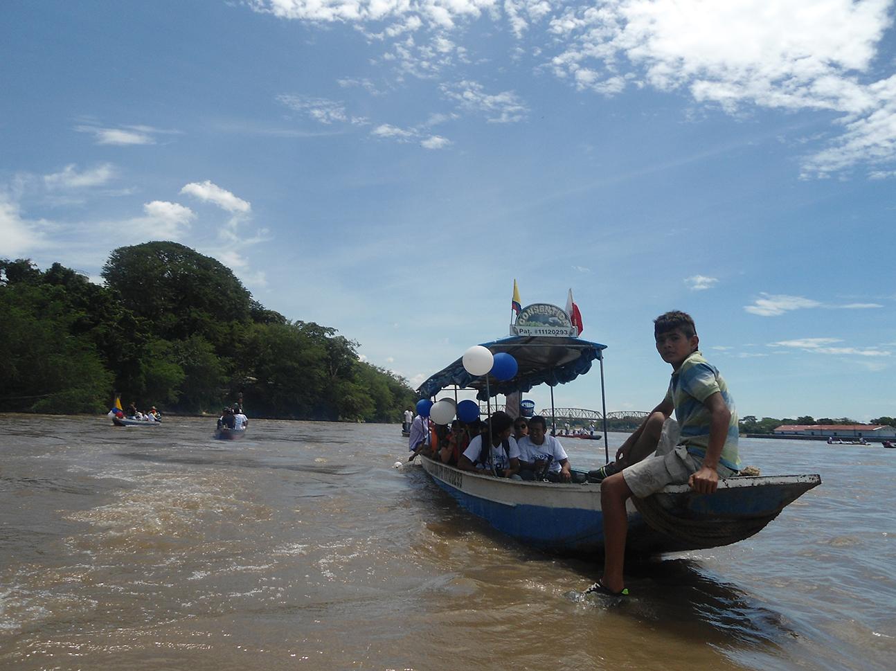 Río Magdalena: de zona de guerra a símbolo de vida   Local   Política   EL FRENTE