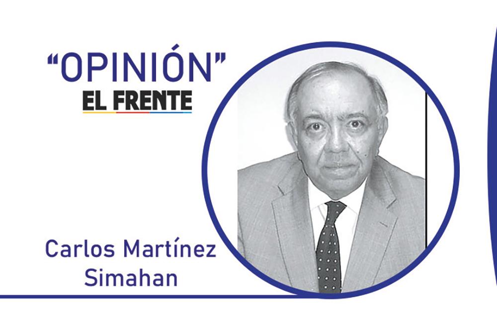 Marchas y bloqueos sin fin Por: Carlos Martínez Simahan | Opinión | EL FRENTE