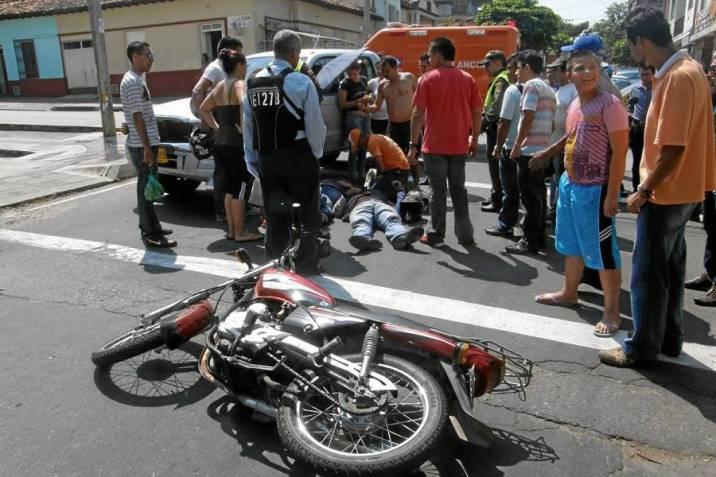 El mercado fue testigo de un violento accidente que acabó con su vida   EL FRENTE