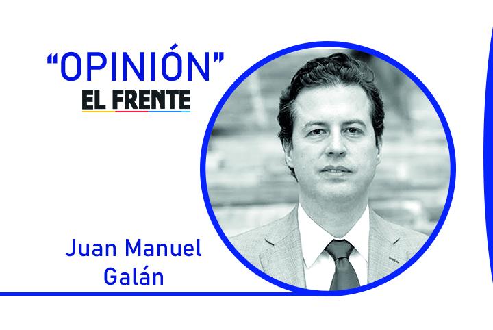 Un ejemplo para el mundo Por: Juan Manuel Galán | EL FRENTE