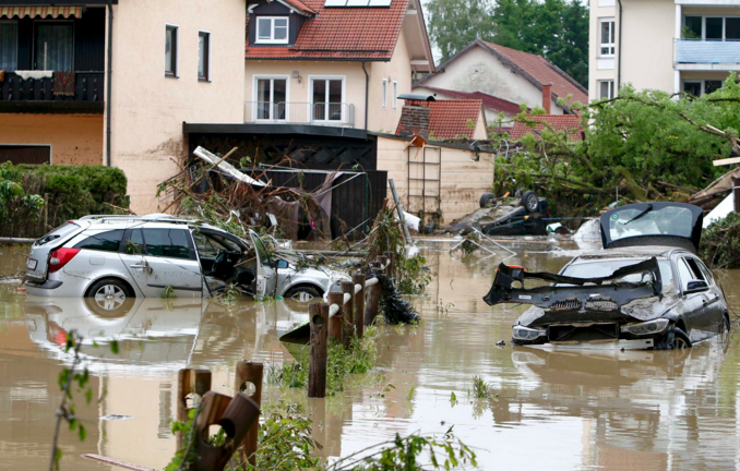 Más de 150 los fallecidos por inundaciones en Europa   EL FRENTE