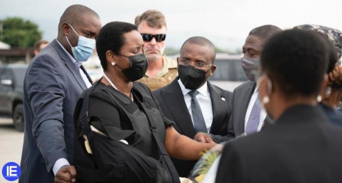 Regresó a Haití la viuda del asesinado presidente Moise   EL FRENTE