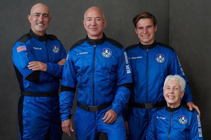 El sueño cumplido de multimillonario Jeff Bezos  | EL FRENTE