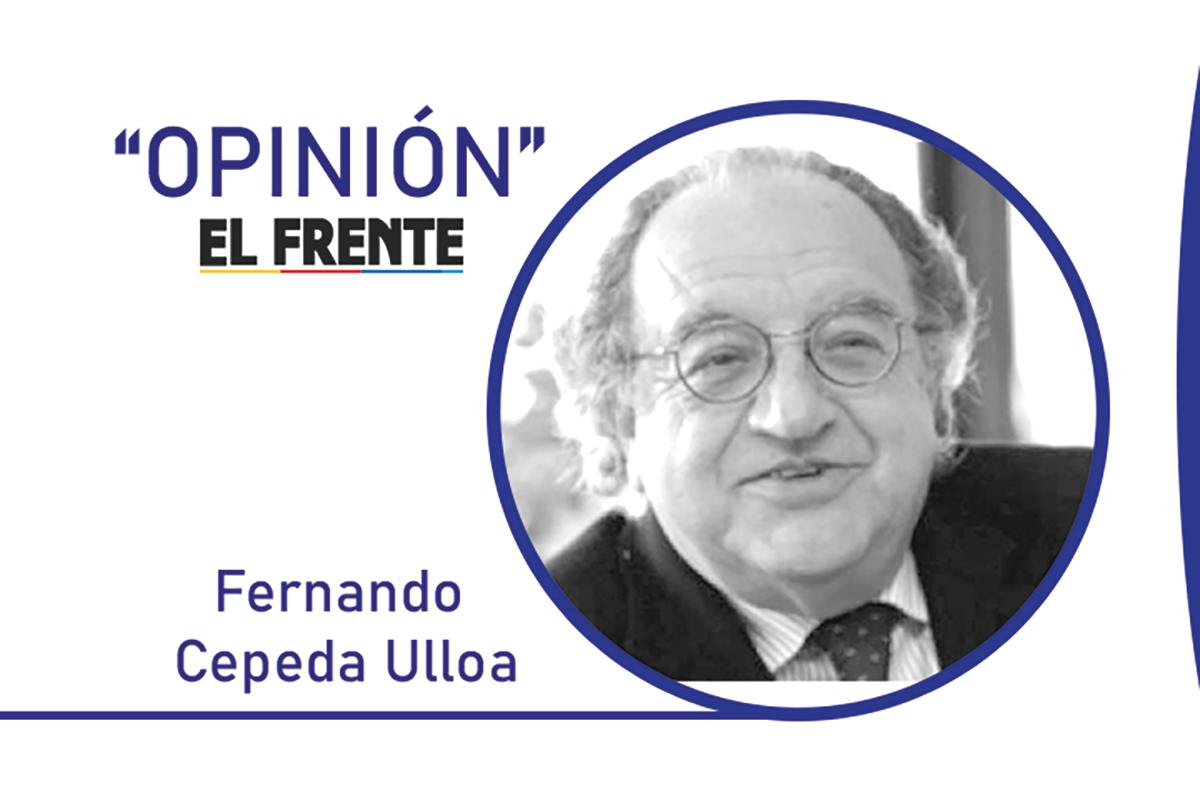 Integridad electoral Por: Fernando Cepeda Ulloa   EL FRENTE