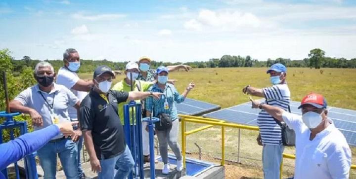Acueducto trabaja con planta impulsada con energía solar en Barrancabermeja | Región | Santander | EL FRENTE