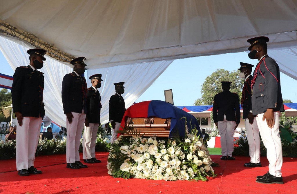 Se cumplieron los funerales de Jovenel Moïse   foto   EL FRENTE