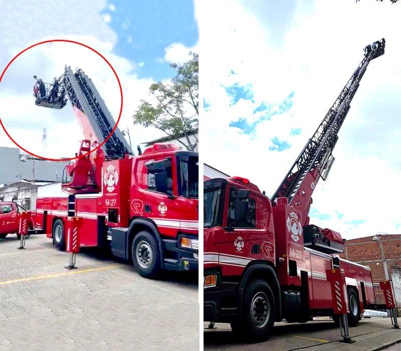 VIDEO. Directora: Máquina escalera de bomberos ha estado en funcionamiento | Metro | EL FRENTE