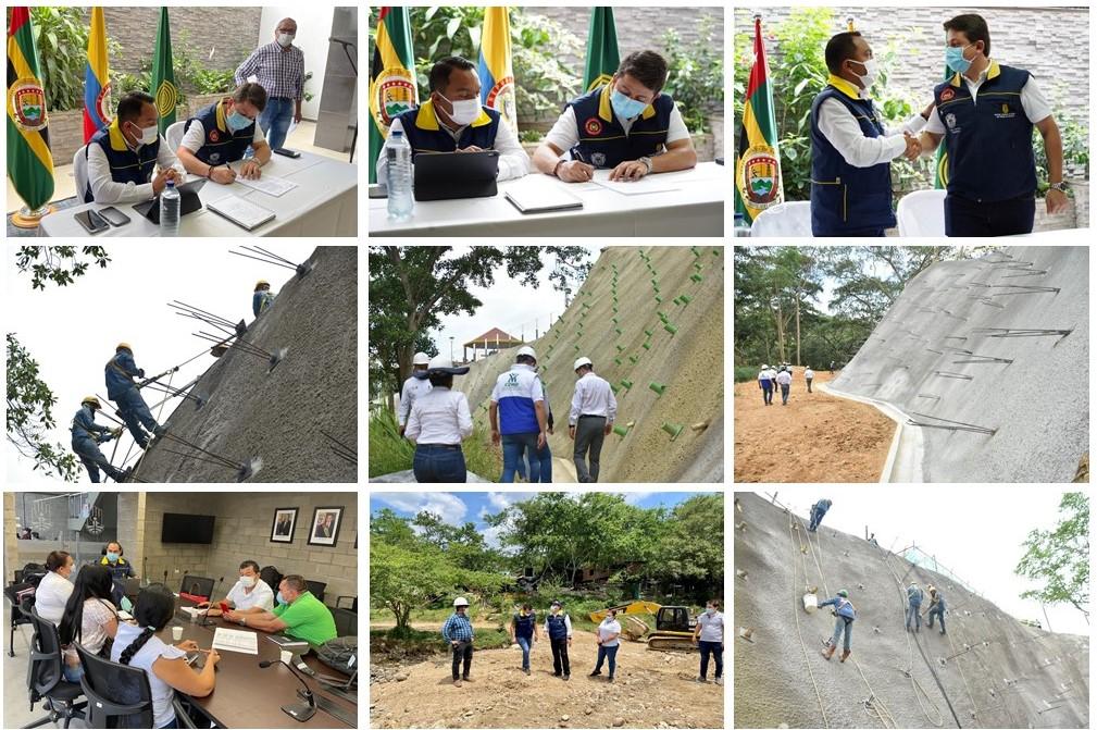 Millonarios recursos para paliar riesgo de deslizamientos en Floridablanca  | Local | Política | EL FRENTE