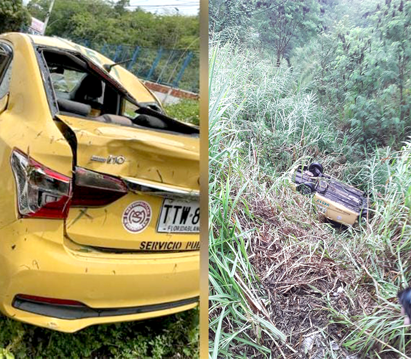 Habilidad del taxista hizo que homicidas rodaran al abismo luego de un crimen | Justicia | EL FRENTE