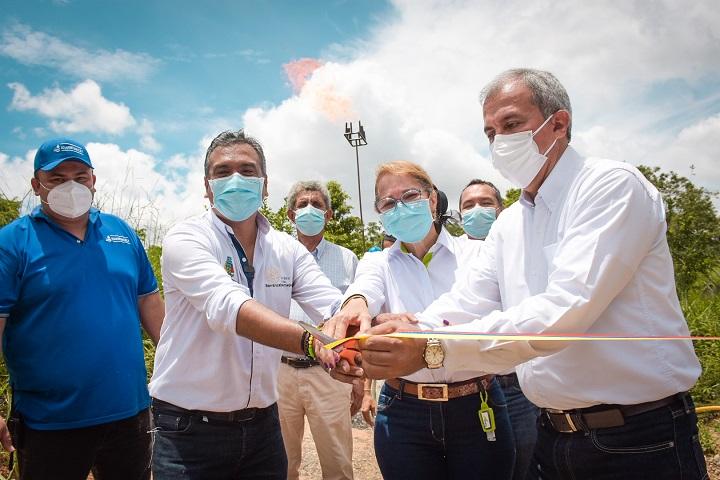Gas natural para a 190 familias en el corregimiento La Fortuna de Barrancabermeja   Santander   EL FRENTE