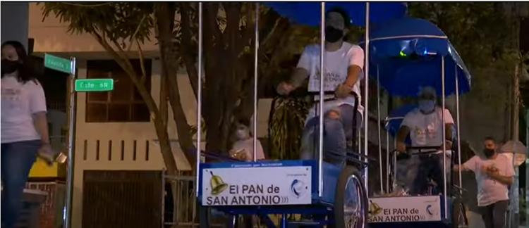 Un grupo de voluntarios reparten 1000 panes diariamente a habitantes de calle    Colombia   EL FRENTE