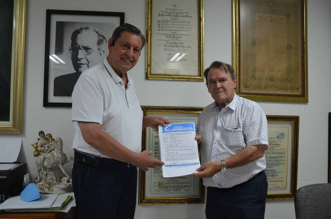 Isnardo Jaimes, el primer candidato a la Cámara inscrito por los azules en Santander  | Local | Política | EL FRENTE