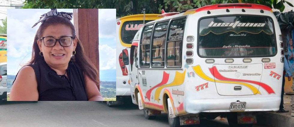 Doña Martha murió tras caer de un bus urbano en Floridablanca   Justicia   EL FRENTE