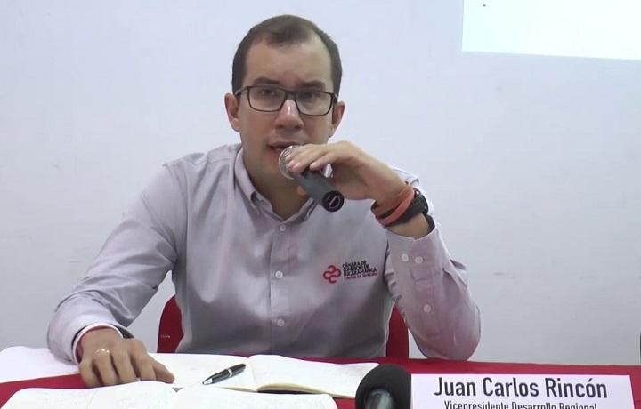 ÚLTIMO MINUTO: Juan Carlos Rincón designado presidente de la Cámara de Comercio de Bucaramanga | Región | Santander | EL FRENTE