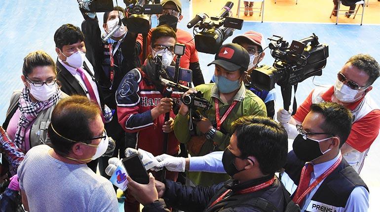 Congreso analiza proyecto para acabar con el acoso judicial a periodistas  | Local | Política | EL FRENTE