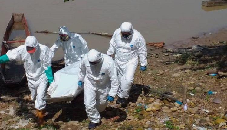 Pescadores encontraron un cadáver flotando por las aguas del Río Magdalena   Nacionales   Colombia   EL FRENTE